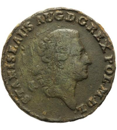 Trojak (3 Groschen) 1773 AP, Warsaw mint