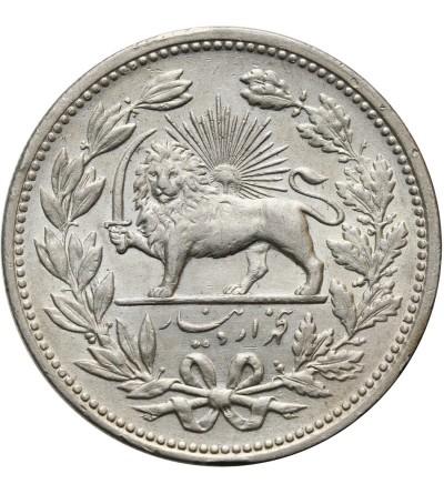 Iran 5000 Dinars (5 Kran) AH 1320 / 1902 AD