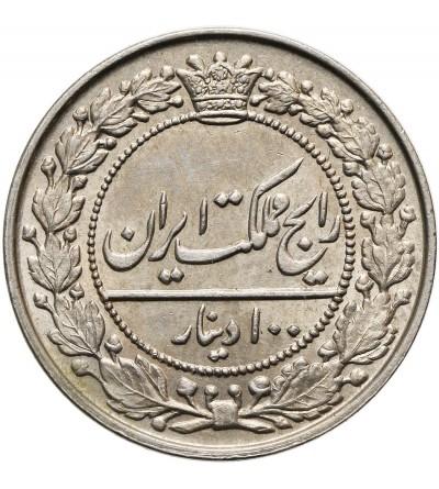 Iran 100 Dinars AH 1305