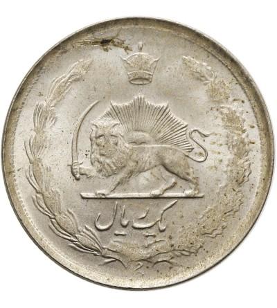 Iran 1 rial 1325 AH / 1946 AD