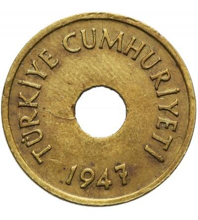 Turkey 1 Kurus 1947