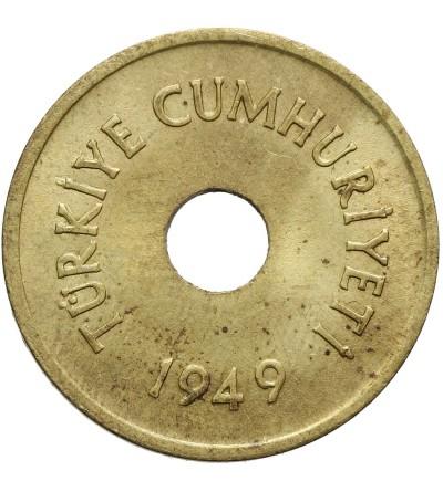 Turkey 2 1/2 Kurus 1949