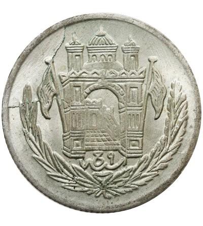 Afganistan 1/2 Afghani (50 Pul) AH 1306 rok 9 / 1927 AD