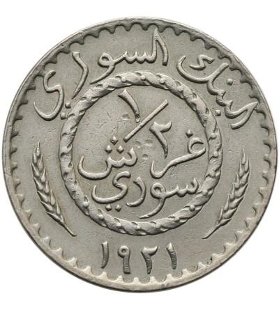 Syria 1/2 piastra 1921