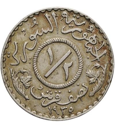 Syria 1/2 piastra 1935