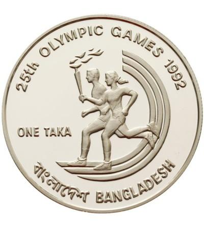 Bangladesz 1 taka 1992