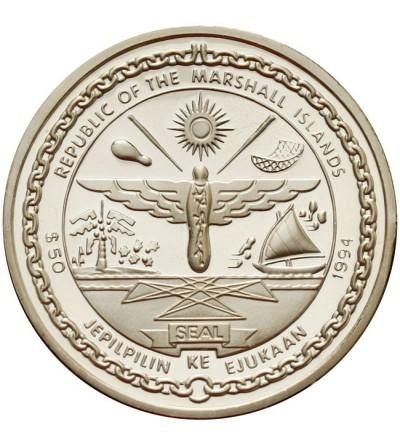 Wyspy Marshalla 50 dolarów 1994