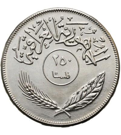 Irak 250 Fils 1970 F.A.O.