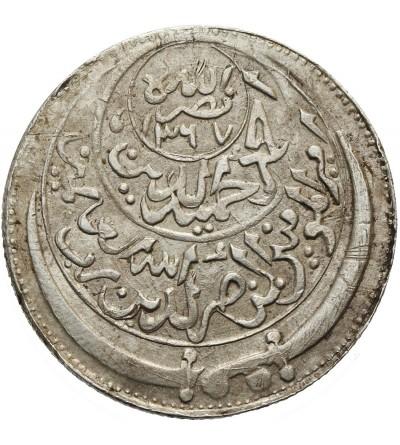 Yeman 1/2 Ahmadi Riyal 1347 / 1367 AH - 1947 AD