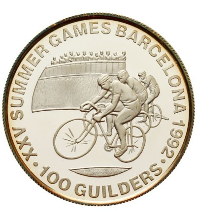 Suriname 100 guilders 1992