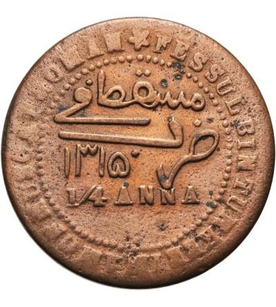Muscat & Oman 1/4 Anna 1315 AH / 1897 AD