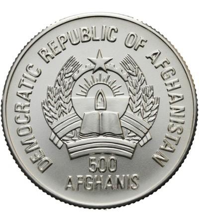 Afganistan 500 afgani 1986, Calgary