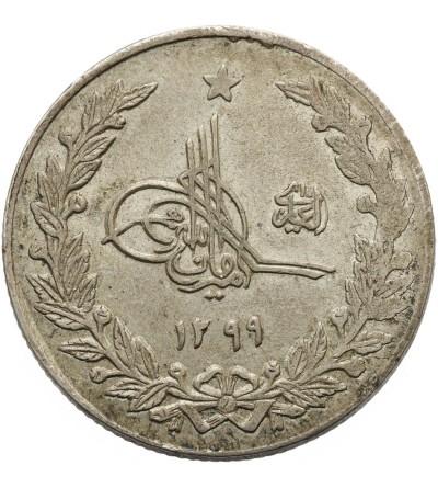 Afganistan 2 1/2 rupii 1299 AH / 1920 AD