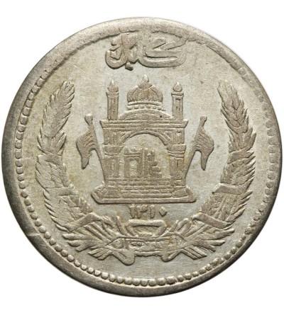 Afganistan 1/2 Afgani (50 Pul) 1310 AH / 1931 AD