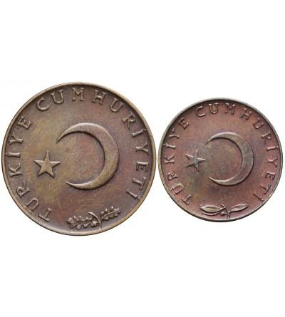 Turkey 5, 10 Kurus 1969