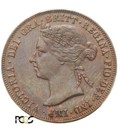 East Africa Pice 1899 - PCGS AU 58