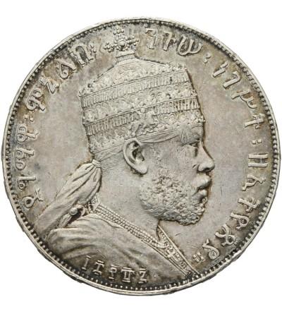 Etiopia 1 Birr EE 1887 / 1895 AD
