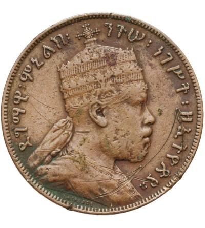Etiopia 1/100 birr 1889 EE