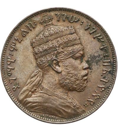 Etiopia 1/100 Birr EE 1889 / 1897 AD