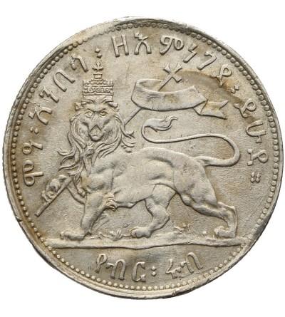 Etiopia 1/4 Birr EE 1889 / 1897 AD, Paryż