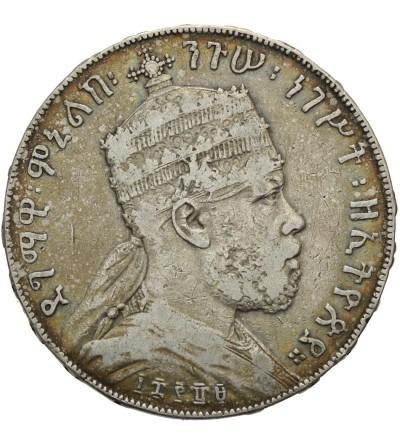 Etiopia 1 Birr EE 1889 / 1897 AD, Paryż