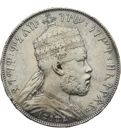 Etiopia 1 Birr EE 1887 / 1895 AD, Paryż