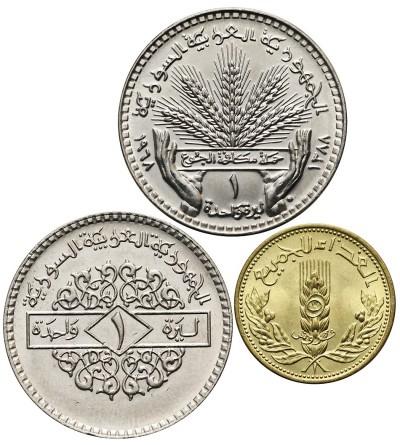 Syria 5 Piastres 1971 F.A.O, Funt 1968 F.A.O., Funt 1979