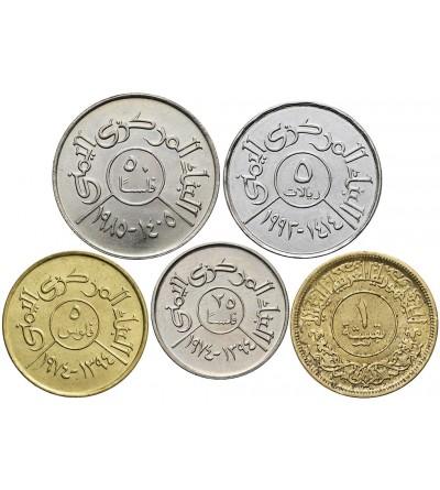 Yemen lot 5 Coins