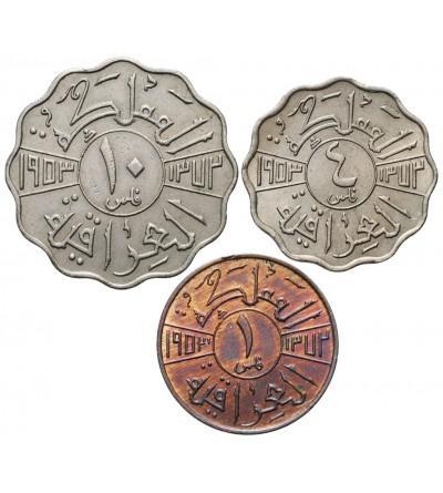Irak 1, 4, 10 Fils 1953