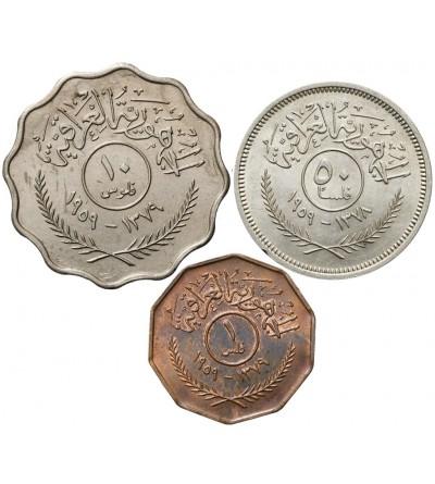 Irak 1, 10, 50 Fils 1959