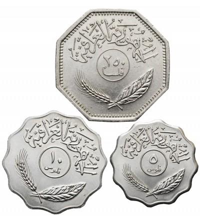 Irak 5, 10, 250 Fils 1981
