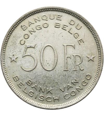 Kongo Belgijskie 50 franków 1944