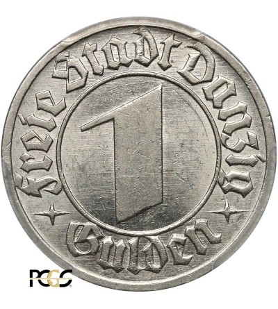 Wolne Miasto Gdańsk 1 gulden 1932 - PCGS MS 62