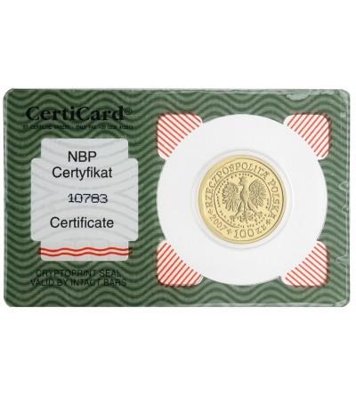 100 złotych 2007, Orzeł Bielik