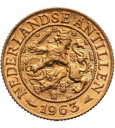 Antyle Holenderskie 1 cent 1963