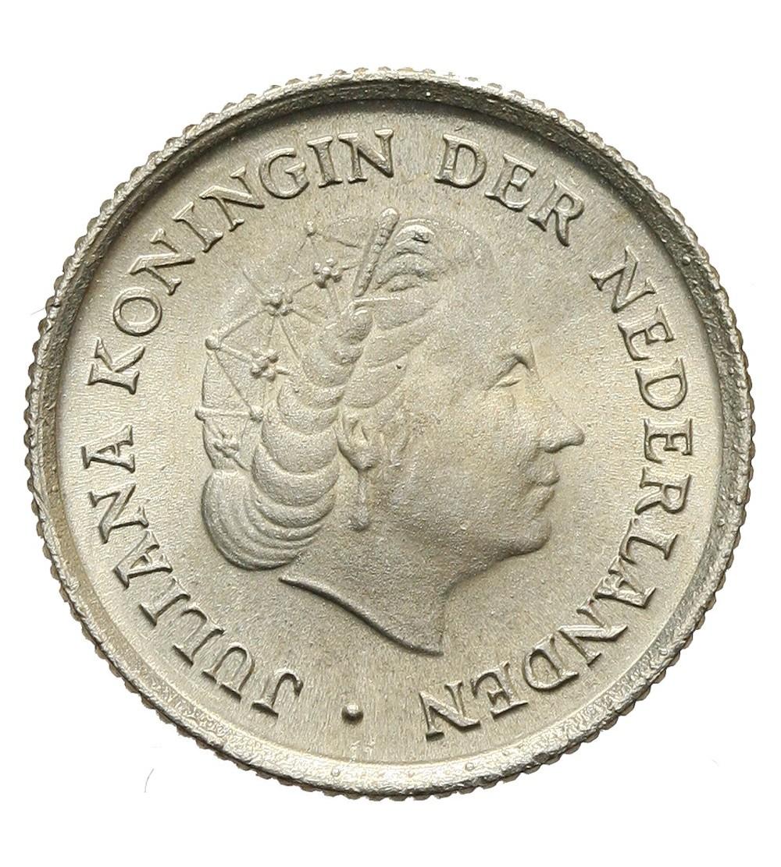 Antyle Holenderskie 1/10 guldena 1962