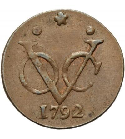 Indie Holenderskie 1 duit 1792, Zachodnai Fryzja