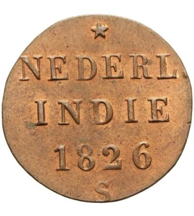 Indie Holenderskie 1/8 stuiver 1826
