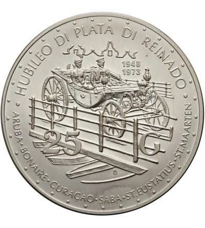 Antyle Holenderskie 25 guldenów 1973