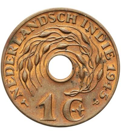 Indie Holenderskie 1 cent 1945 P