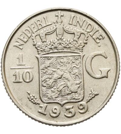 Indie Holenderskie 1/10 guldena 1939