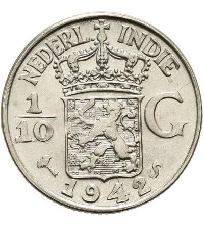Indie Holenderskie 1/10 guldena 1942