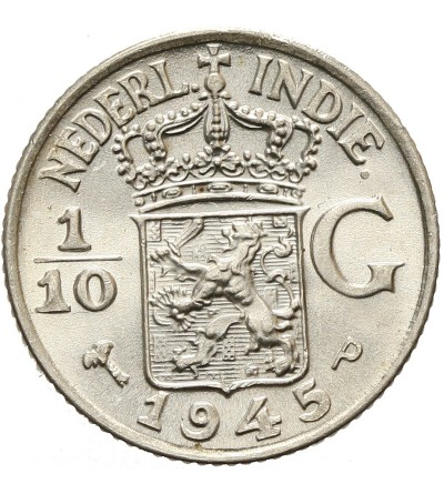 Netherlands East Indies 1/10 Gulden 1945 P