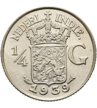 Indie Holenderskie 1/4 guldena 1939