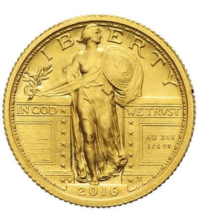 USA Standing Liberty 2016 Centennial Gold Coin