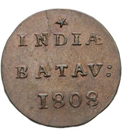 Wschodnie Indie Holenderskie 1/2 Duit (1/32 guldena), Republika Batawska