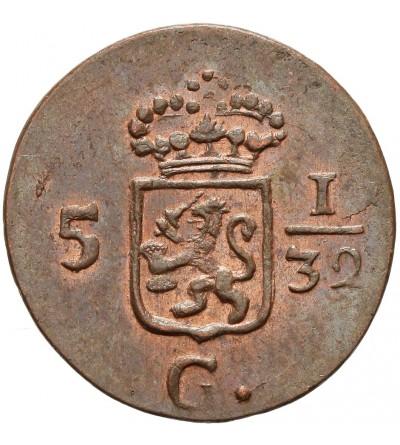 Netherlands East Indies 1/2 Duit 1808, Batavian Republic