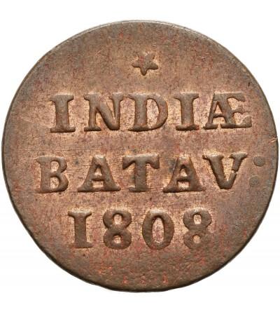 Wschodnie Indie Holenderskie 1 Duit 1808, Republika Batawska