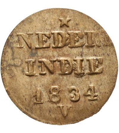Wschodnie Indie Holenderskie 1 cent 1834 V
