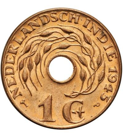 Wschodnie Indie Holenderskie 1 cent 1945 P